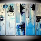 Handmade Abstract Oil Painting for Wall Decor (+Framed) XD5-104