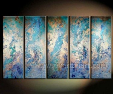 Modern Reproduction Abstract Oil Painting (+Framed) XD5-105