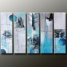 100% Hand Painted Abstract Oil Painting for Decor (+Framed) XD5-107