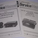 2 NEW Manual REALISTIC Radio Shack CB Transceiver Radio