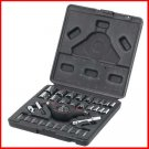 NEW NIB 33pc PALM-GRIP RATCHET Set Kit SAE/METRIC + Bits