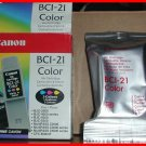 NEW Genuine CANON 3COLOR BCI-21 ink Cartridge BCJ/2000/4000