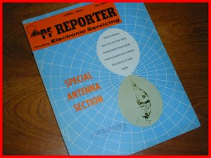 PF REPORTER 63' Color Circuitry ANTENNAS Sams Photofact RARE Magazine April 1963