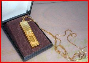 NOS Keychain WATCH LCD MICROSONIC 1980's Vintage DIGITAL Quartz in Jewelry Case