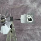 17 inch Mini Windmill Route 66 tail