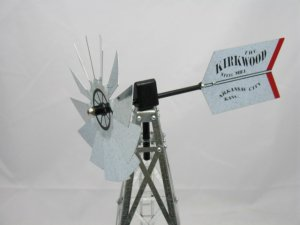 17 inch Mini Windmill Kirkwood Steel Mill Tail