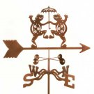 Dancing Frog Weathervane