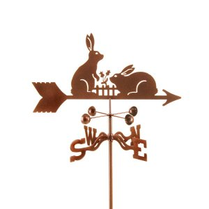 Dancing Rabbits Weathervane