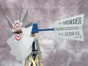 17 inch Mini Windmill Elgin Wonder tail