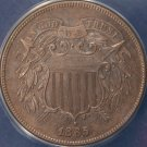 1865 2 Cent Fancy 5