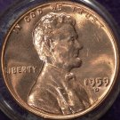1959D-1MM-026 Lincoln Cent