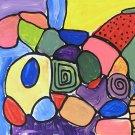 Custom Abstract Painting  20 X 16 Ginamarie Art Original