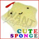 Yellow Sponge Smiley Star Cute Japanese for Kitchen Bento Box NEW