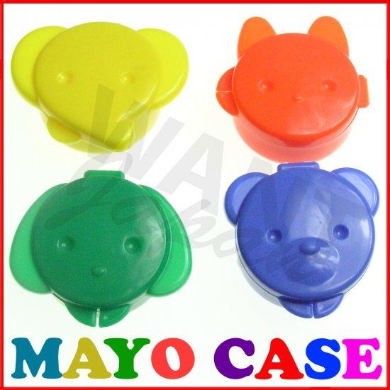MAYONNAISE CASE Sauce Animal Japanese for Bento Box NEW
