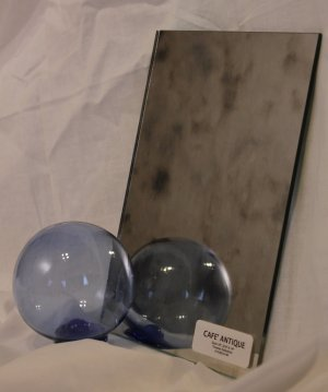 """Cafe' Antique Mirror Glass Sample - 3/16"""""""