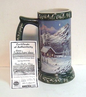 Coors Stein-Somewhere near Golden, Colorado - 2nd Edition - Green ' 04 - Collectibles