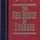 RED BADGE of COURAGE by Stephan Crane - book