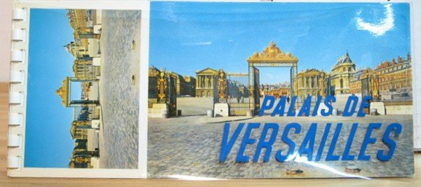 Palais De Versailles - Book of 9 Postcards - Vintage