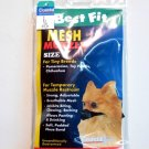 Mesh Dog Muzzle - Tiny Breeds size 1 - Best Fit NEW !