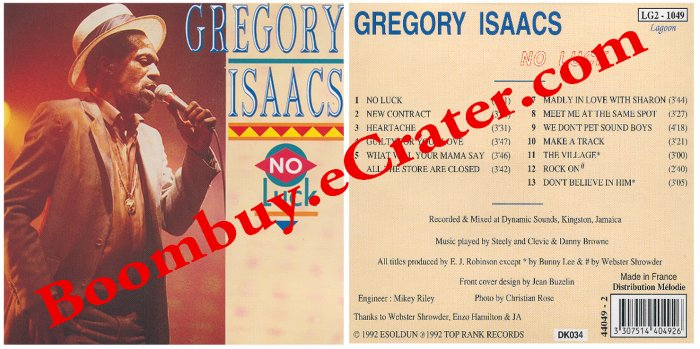 Gregory Isaacs: No Luck