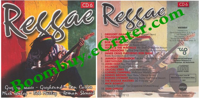 Various Artists: Reggae Cd 6