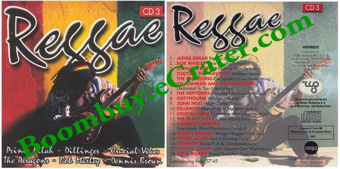 Various Artists: Reggae Cd 3