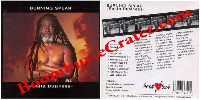 Burning Spear:Rasta Business