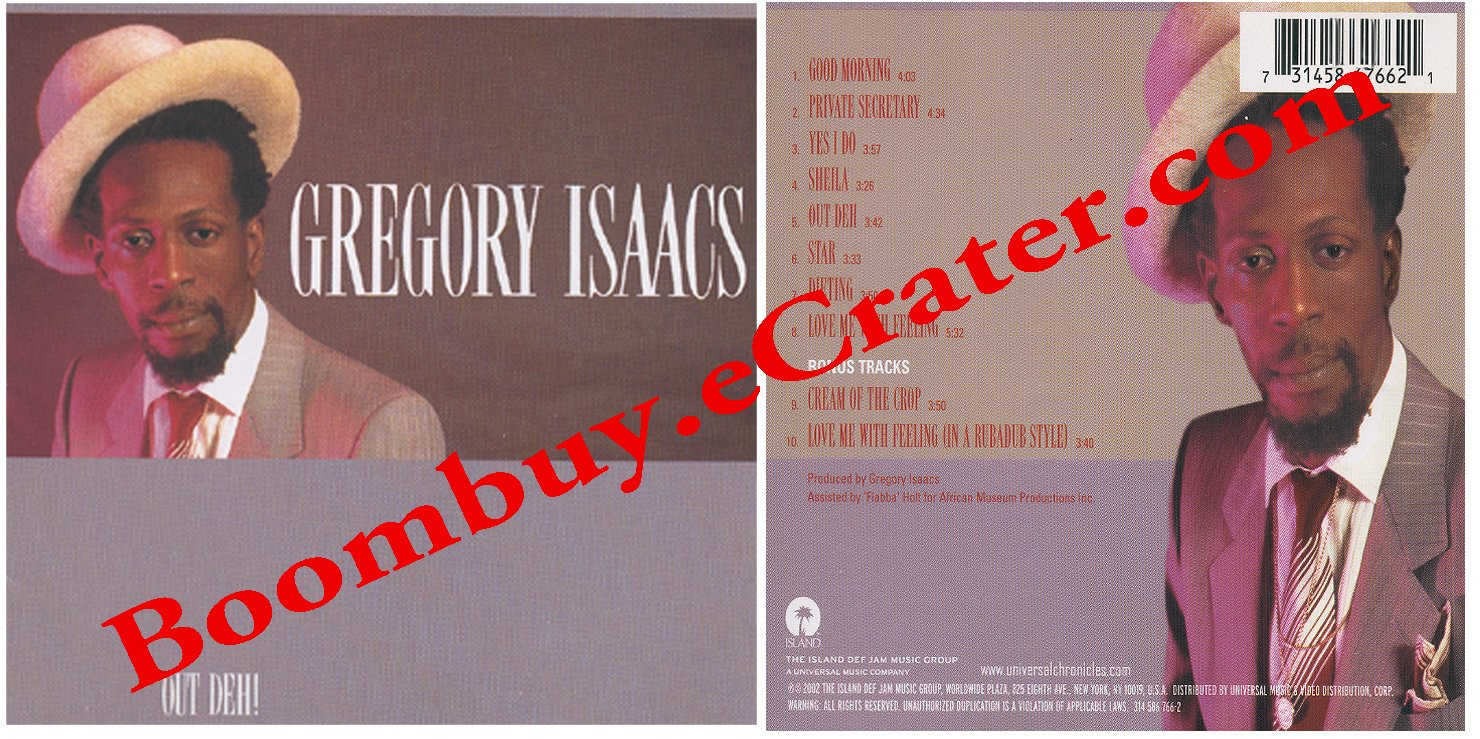 Gregory Isaacs: Out Deh