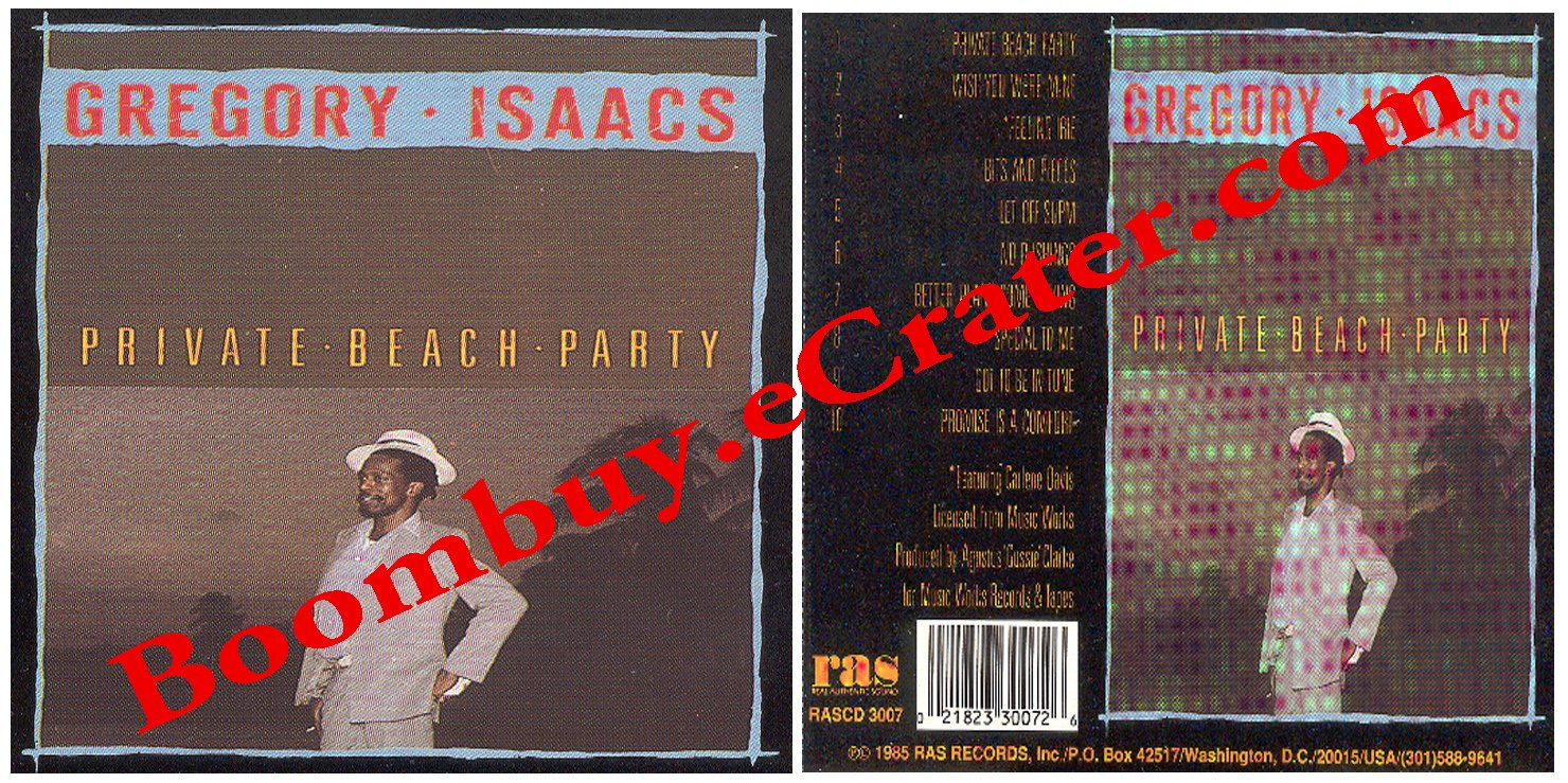 Gregory Isaacs: Private Beach Party