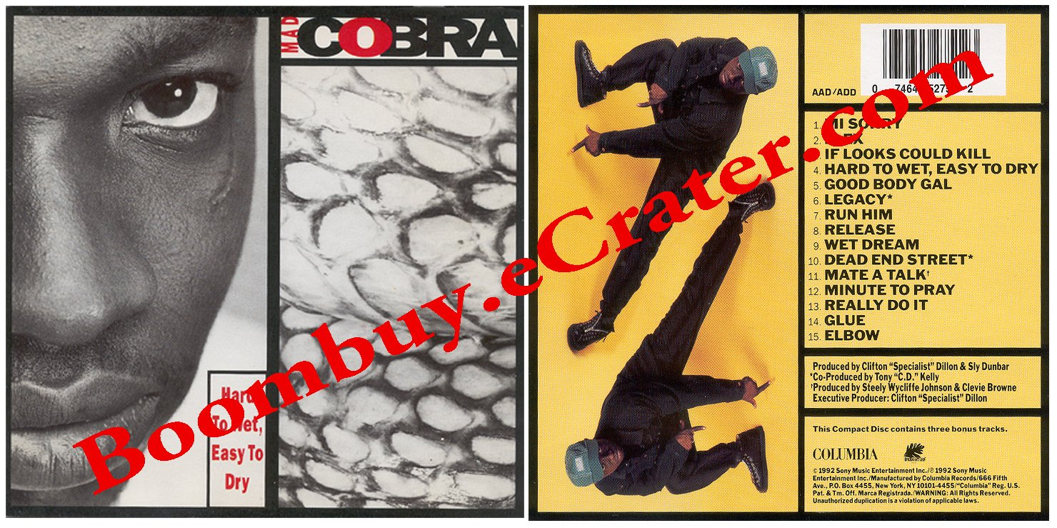 Mad Cobra: Hard To Wet Easy To Dry