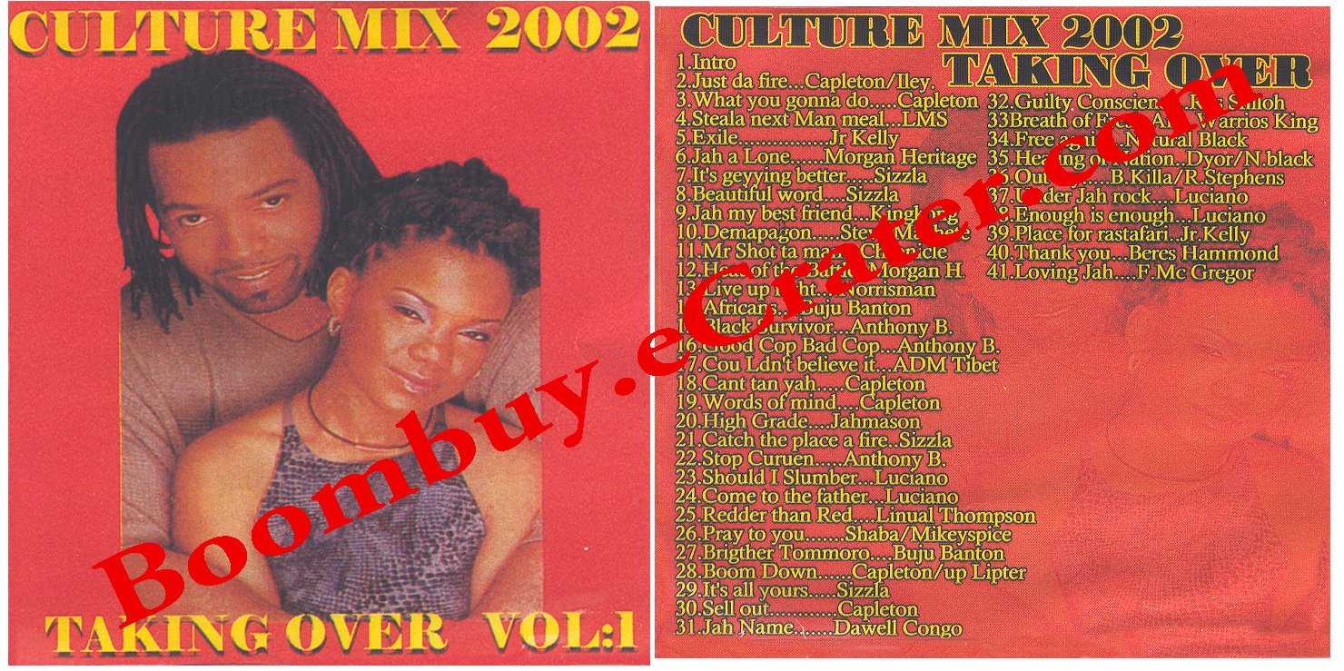 Various Artists: Taking Over Culture Vol. 1 ( Culture )