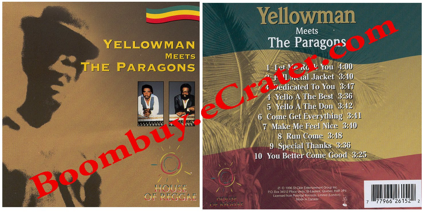Yellow Man: Yellow Man Meets The Paragons