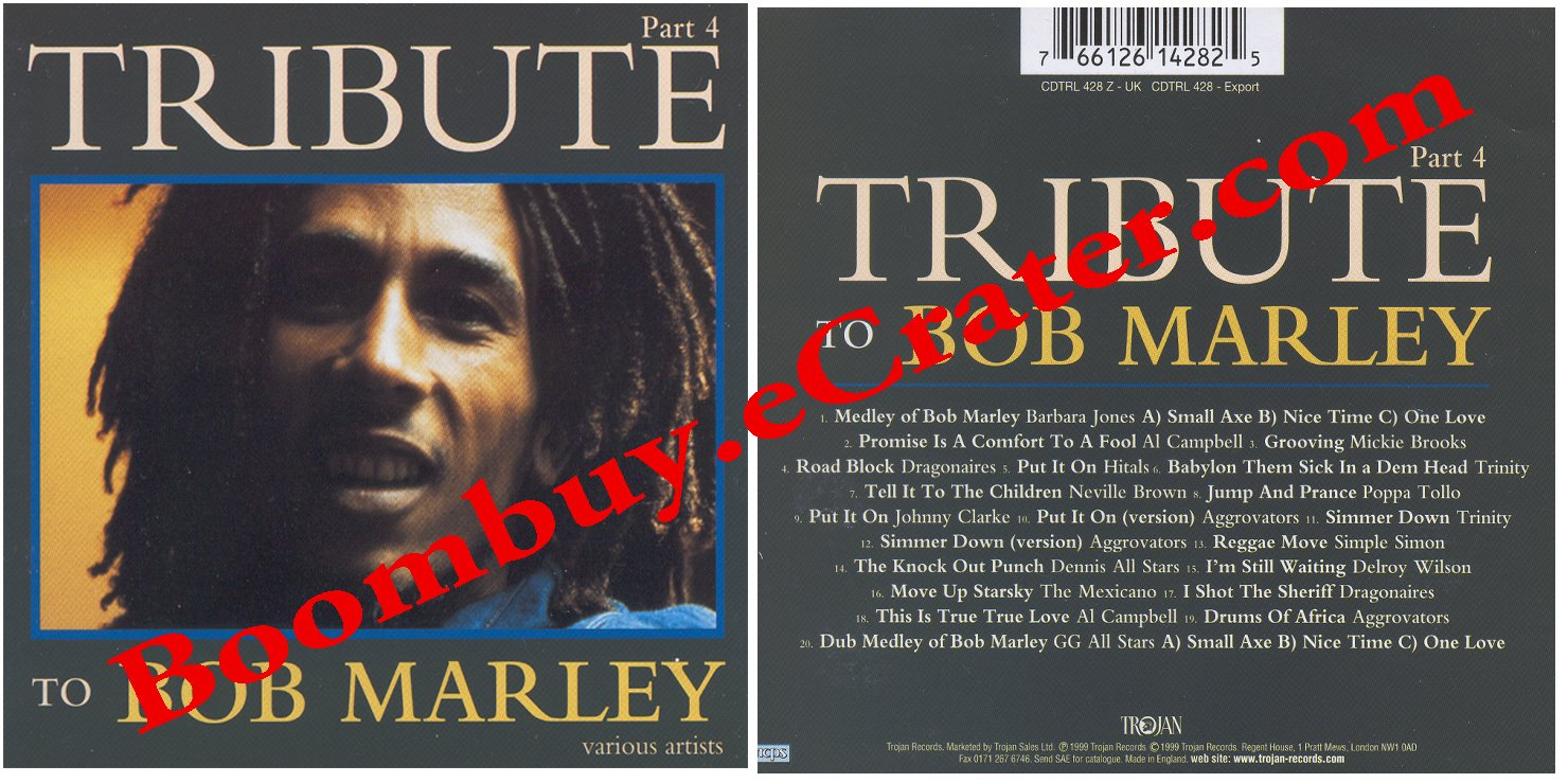 Various Artists: Tribute To Bob Marley Vol. 4