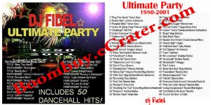 Dj Fidel: Ultimate Party Mix Cd