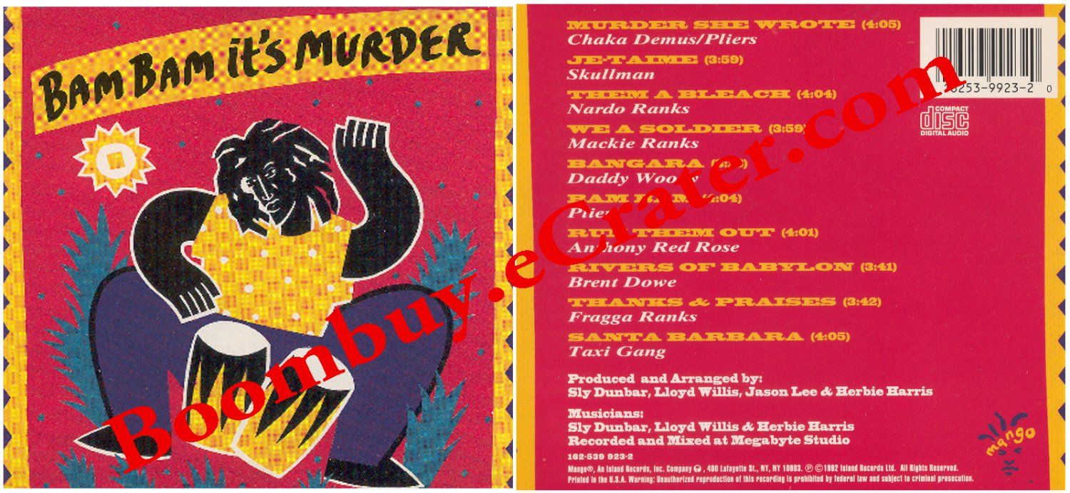 Various Artists: Bam Bam It's Murder