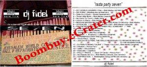 "Dj Fidel: ""Rasta Party Seven"""