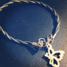 Intertwined Butterfly Bracelet in Green