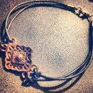 Rhombus Bracelet in Black & Brown