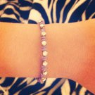 Lavender Rhinestone Bracelet