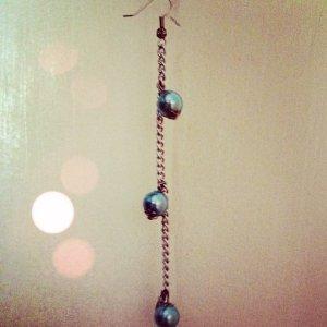 Baby Blue Chain Earring