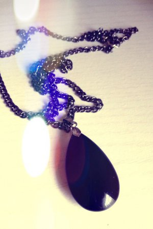 Teardrop Long Necklace