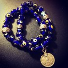 Turkish Evil Eye Good Luck Bracelet Set