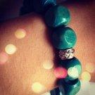 Green Butterfly Bracelet