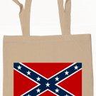 Confederate Rebel Flag Tote Bag