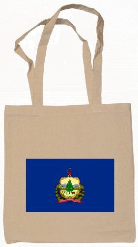 Vermont State Flag Tote Bag