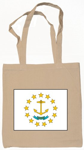Rhode Island State Flag Tote Bag