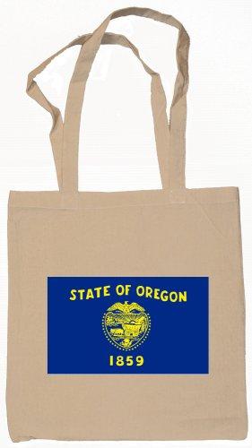 Oregon State Flag Tote Bag