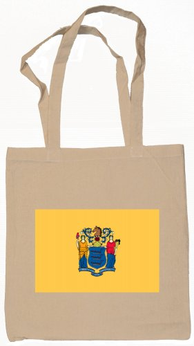 New Jersey State Flag Tote Bag