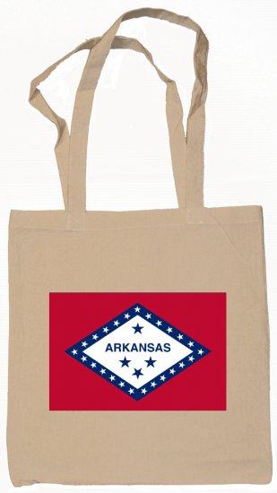 Arkansas State Flag Tote Bag