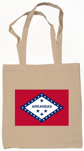 Arkansas State Flag Tote Bag